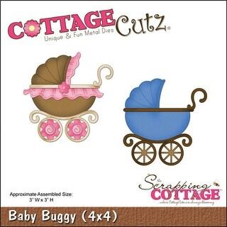 """CottageCutz Die-Baby Buggy 3""""X3"""""""