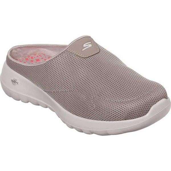 e0a28fbbd7e Shop Skechers Women's GOwalk Joy Talent Slip-On Walking Shoe Taupe ...