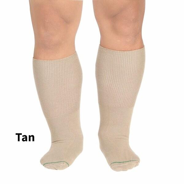 Men's Bariatric Cotton Dress Socks