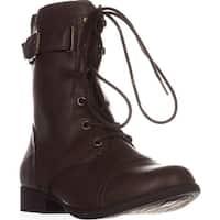 AR35 Fionn Combat Boots, Brown