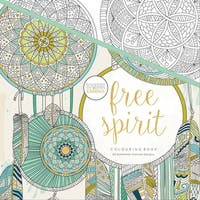 "KaiserColour Perfect Bound Coloring Book 9.75""X9.75""-Free Spirit"