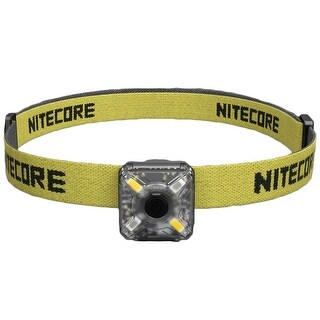 NITECORE NU05 Kit White & Red USB Rechargeable Emergency Signal Headlamp