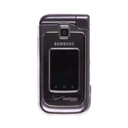 Hard Cover Case for Samsung Alias 2 SCH-U750 - Clear (Bulk Packaging)