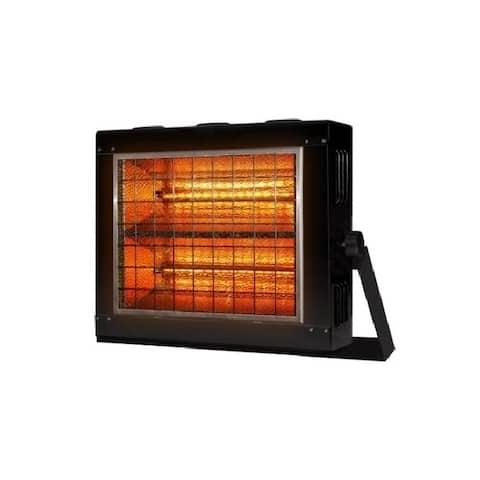 """19"""" Black Infrared Radiant Heater"""