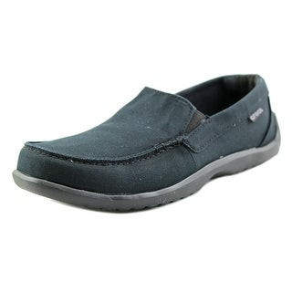 Crocs Walu Driver Men Round Toe Canvas Loafer