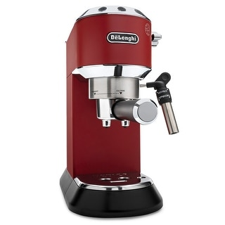 Link to DeLonghi Dedica Deluxe 15-Bar Manual Espresso Machine (Red) Similar Items in Kitchen Appliances