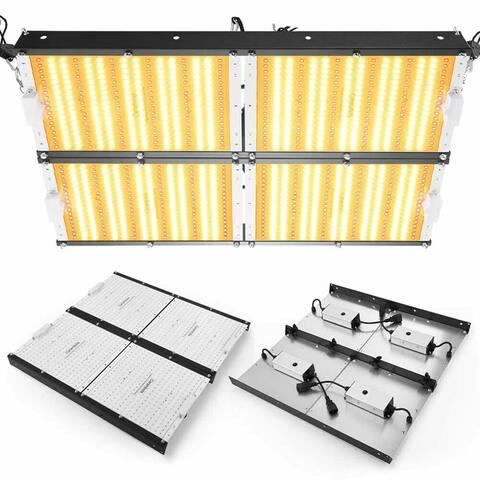 4000W LED Grow Light Kit 1134PCS LED Lights Full Spectrum Growing Lamp - Silver