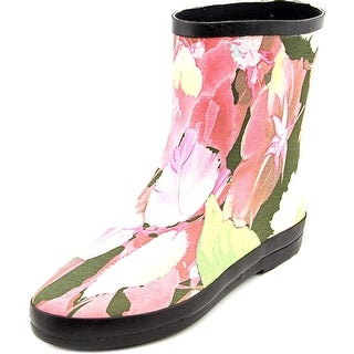 Dirty Laundry Sweet Child Women Round Toe Canvas Multi Color Rain Boot