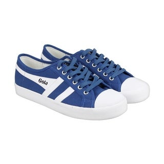 Gola Gola Coaster Mens Blue Textile Lace Up Sneakers Shoes