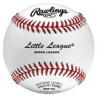 Rawlings RIF5 Level 1 Little League Baseball (Dozen) White