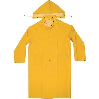 Custom Leathercraft Med Pvc Trench Coat R105M Unit: EACH