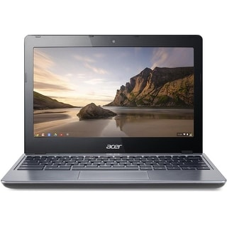 "Acer C720-2844 11.6"" LED Chromebook Intel Celeron Dual Core 1.4GHz 4GB 16GB SSD"