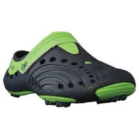 Men's DAWGS Spirit Golf Shoes - Navy Blue with Lime Green