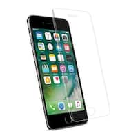 Reiko Iphone 7 Plus 3D Curved Full Coverage Tempered Glass Screen Protector In Clear