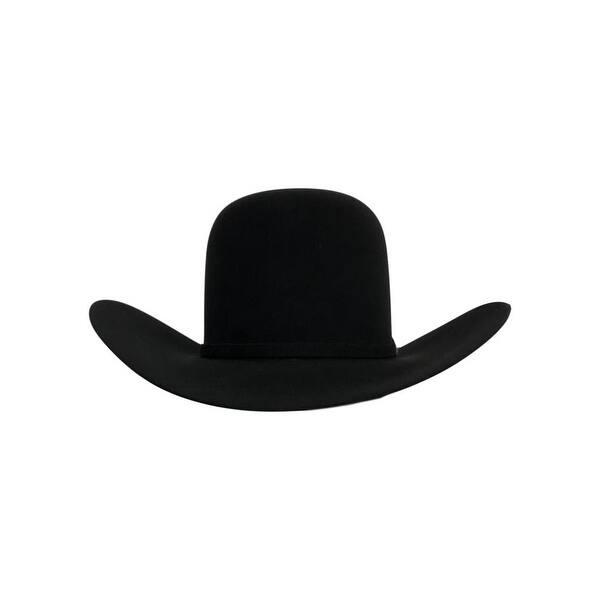Shop American Cowboy Hat Mens Felt 7x Open Crown 4 1 4 Brim