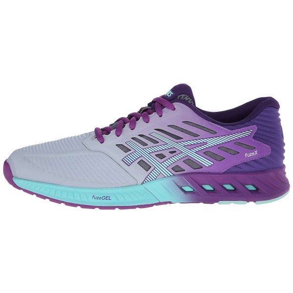 8d7a48c96a01 Shop ASICS Womens FuzeX Low Top Lace Up Running Sneaker - On Sale ...