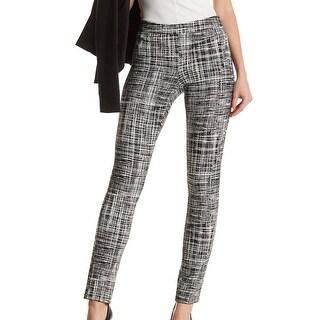 Amanda + Chelsea NEW Black Ivory Women's Size 16 Ponte Dress Pants