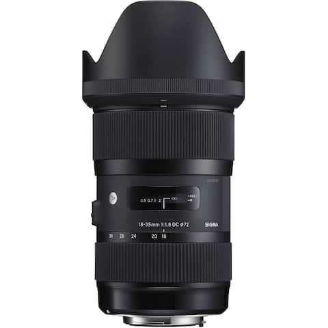 Sigma 18-35mm f/1.8 DC HSM Art Lens for Nikon (International Model)
