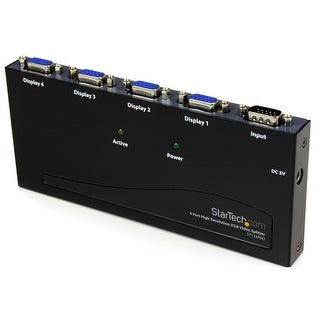 Startech - St124pro 4Port High Res 300 Mhz Svganvga Video Splitter