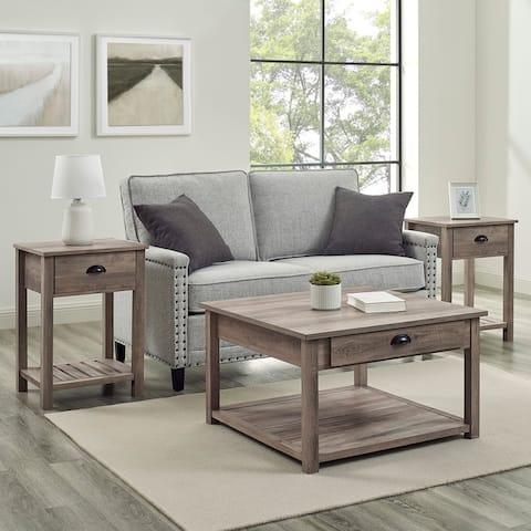The Gray Barn 3-Piece Farmhouse Table Set