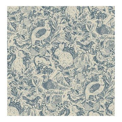 Blue Terrene Peel & Stick Wallpaper - 216in x 20.5in x 0.025in
