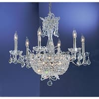 "Classic Lighting 69786-CH 22"" Crystal Chandelier from the Crown Jewels Collection - n/a"