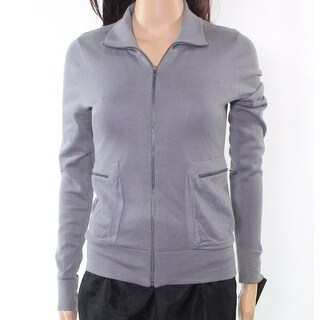 Rubbish NEW Dark Charcoal Gray Women's Size Small S Full-Zipped Jacket