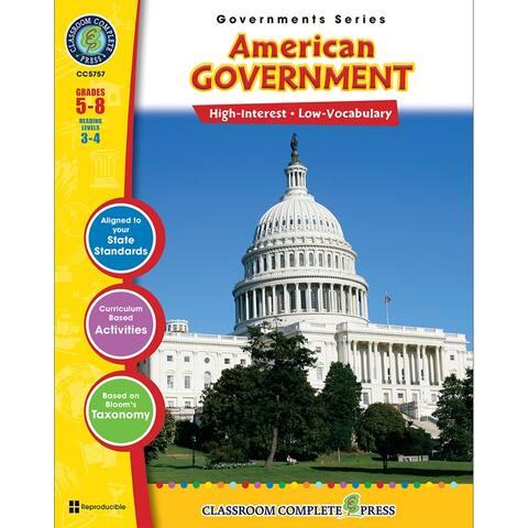(3 Ea) American Government Govs Series
