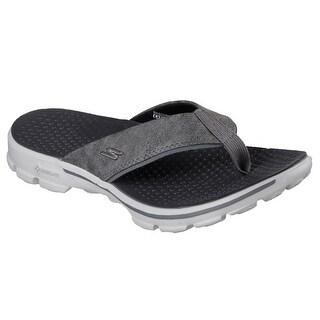 Skechers 54250 CHAR Men's GOWALK 3-STAG Sandal