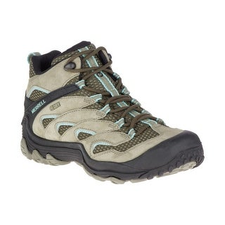 Merrell Women's Chameleon 7 Limit Mid WP Hiking Boot - dusty olive