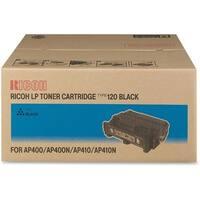 Ricoh Toner Cartridge - Black Ricoh Type 120 Toner Cartridge - Black - Laser - 15000 Page