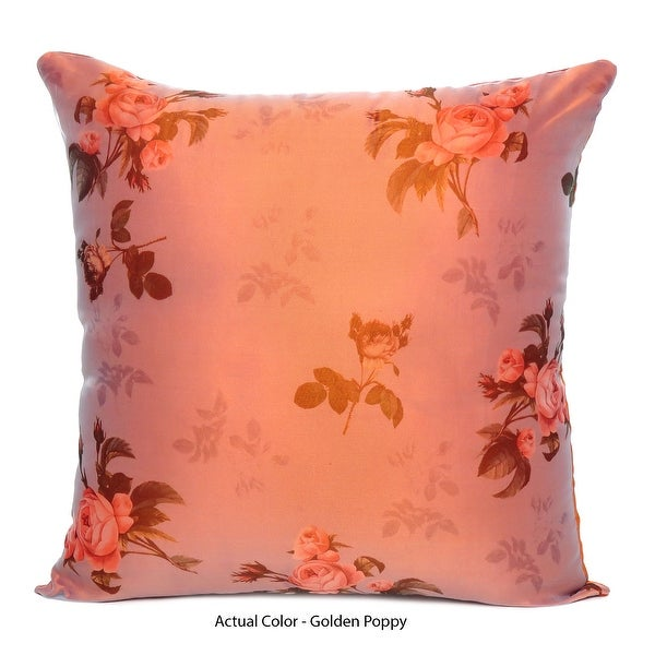 Oussum Home Decor Floral Pillowcase Satin Oraganza Decorative Throw Pillows Covers Cushions Set Of 5 Printed Cushion Sets. Opens flyout.