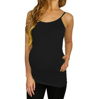 Shop Pretty Girl Maternity Basic Seamless Nursing Tank Maternity Top - one size fits all ( maternity)