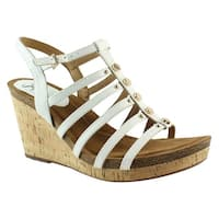 Sofft Womens Cassie White Sandals Size 10