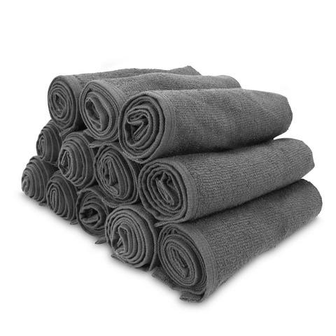 Arkwright 12 Bleach Safe Salon Towels (16x28) for Gym, Salon, Spa - 16 x 28 in.