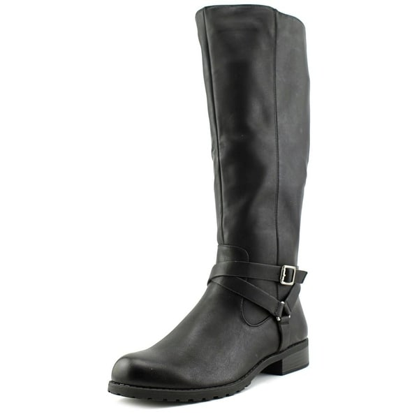 Style & Co Brigyte Women Round Toe Synthetic Black Knee High Boot