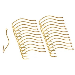 Mustad UltraPoint Slow Death Gold Fishing Hooks (25 Ct) - 4