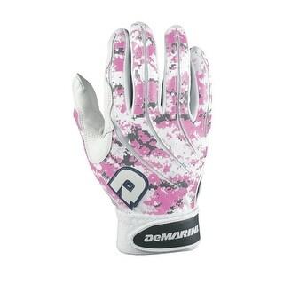 DeMarini Digital Camo Batting Gloves (Pink/X-Large)