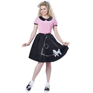Link to California Costumes 50s Poodle Skirt Adult Costume Similar Items in Dresses