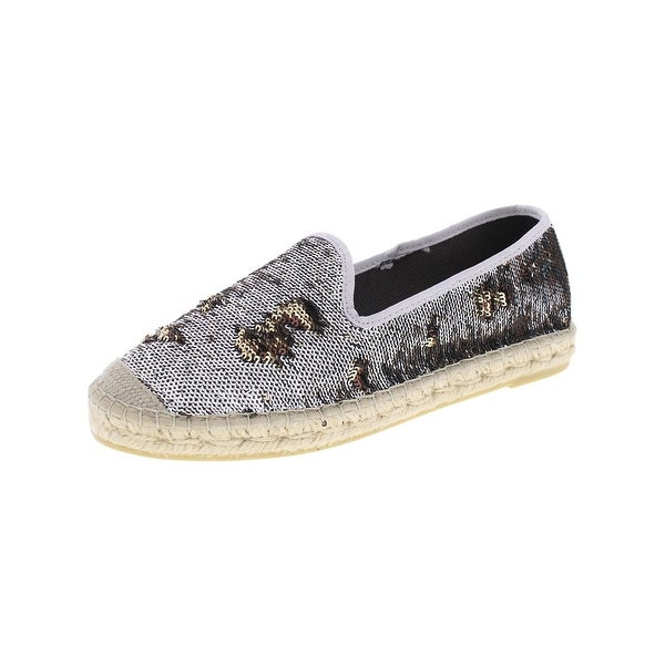 Vidoreta Womens Simone Fashion Loafers Sequined Espadrille