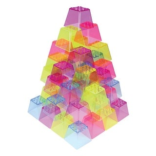 Roylco Crystal Color Stacking Blocks