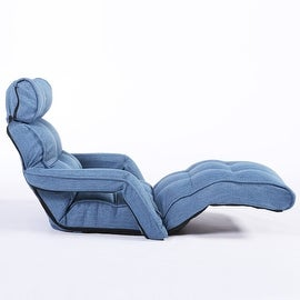 Cozy Kino Floor Pro Sofa Reclining Game Chair with Armrest