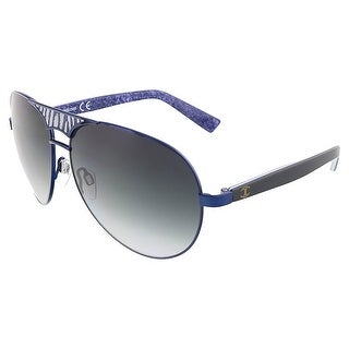 Just Cavalli JC 510 92W Navy Blue Teardrop Aviator Sunglasses - Navy blue - 60-13-130