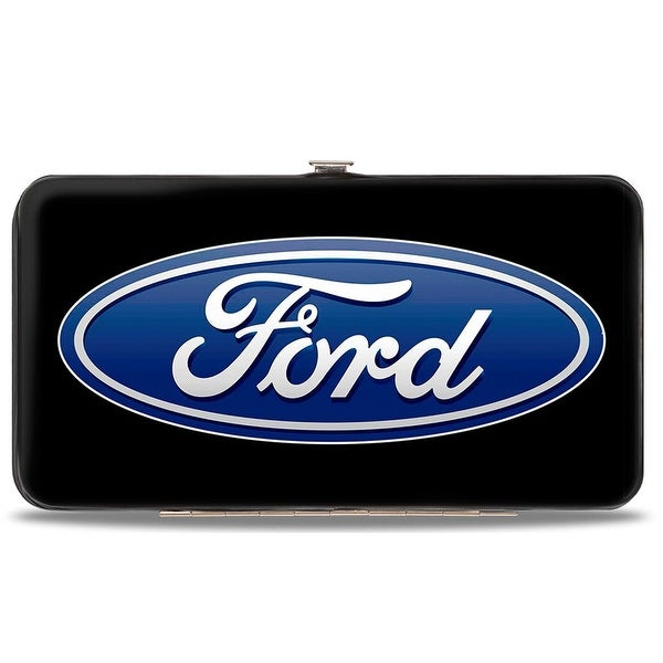 Ford Oval Logo Centered Hinged Wallet - One Size Fits most