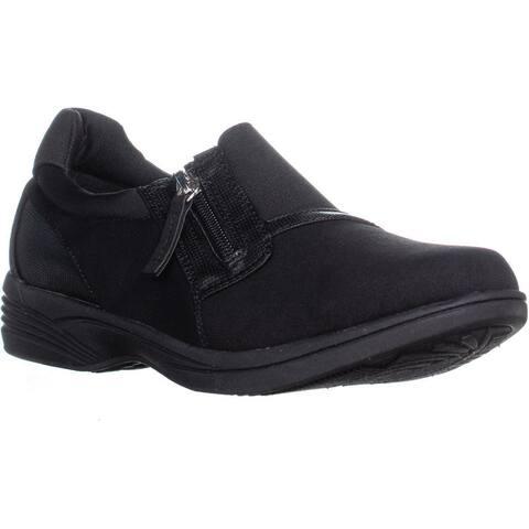 SoLite by Easy Street Dreamy Slip On Sneakers, Black Multi