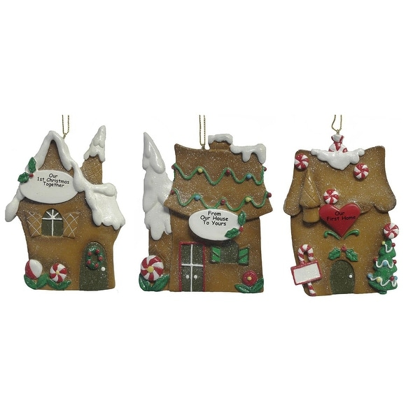 "Pack Of 12 Better Homes & Gardens ""Our First"" Christmas Ornaments #25402"