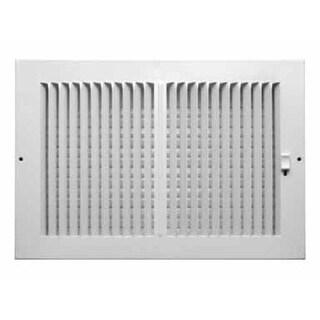"Truaire C102M 12X08 Sidewall Ceiling Register, 12"" x 8"""