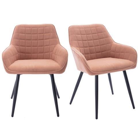 Modern Velvet Dining Room Chair- 2 PC