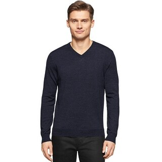 Calvin Klein Big and Tall Extra Fine Merino Wool V-Neck Sweater Navy 2XLT|https://ak1.ostkcdn.com/images/products/is/images/direct/afab4ac807ff24958d11505aa87049162f4d4d6e/Calvin-Klein-Big-and-Tall-Extra-Fine-Merino-Wool-V-Neck-Sweater-Navy-2XLT.jpg?_ostk_perf_=percv&impolicy=medium