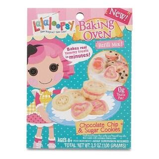 Lalaloopsy Baking Oven Mix- Chocolate Chip & Sugar Cookies - 3.42 oz